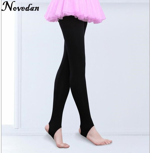 479601ae69000 Child Kids Girls Stirrup Ballet Dance Tights Socks Gymnastics Practice  Pantyhose Fitness Pants Dance Clothes Legging