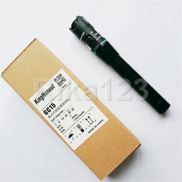 US VFL 30mW 30KM Visual Fault Locator Fiber Optic Cable Tester Optical Laser