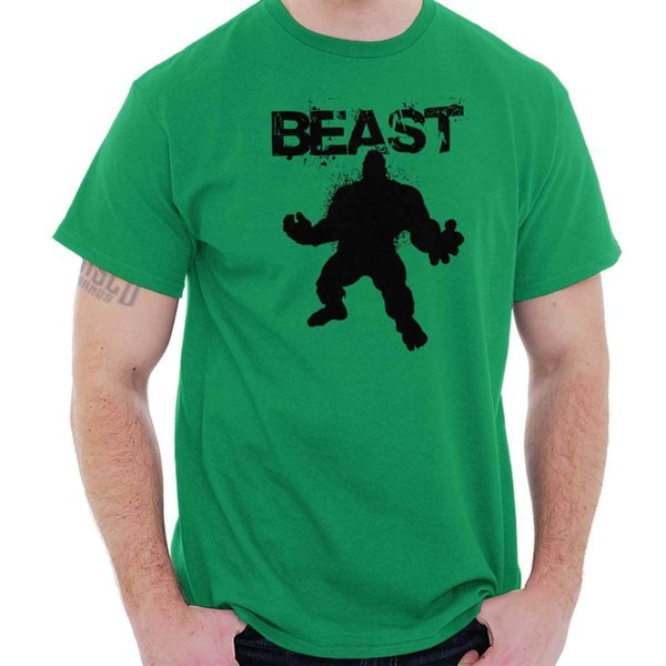 Details zu Beast Hulk 24 Bodybuilding Mode Gym Workout Clutch Gift Cool T Shirt Funny free shipping Unisex Casual tee gift