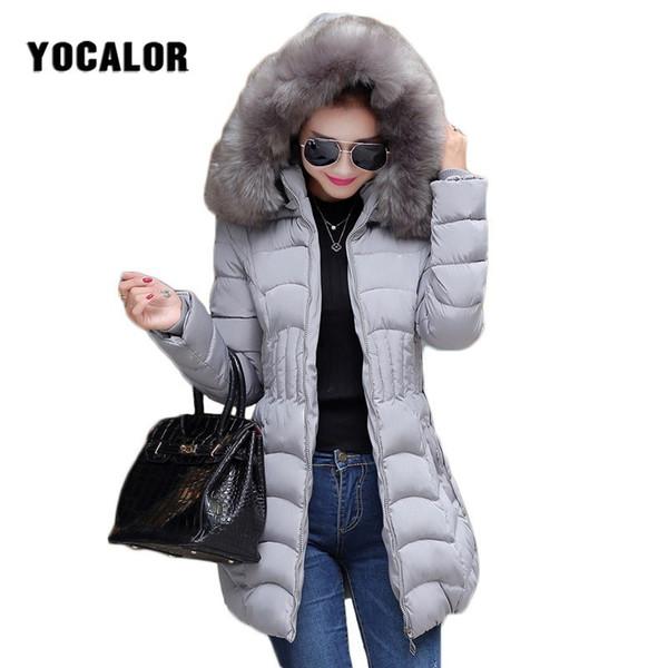 2018 Autumn And Cheap Winter Coats Female Coat Quilted Jacket Women Warm Parka Feminina Outerwear Duck Plus Size Hood Snow Wear