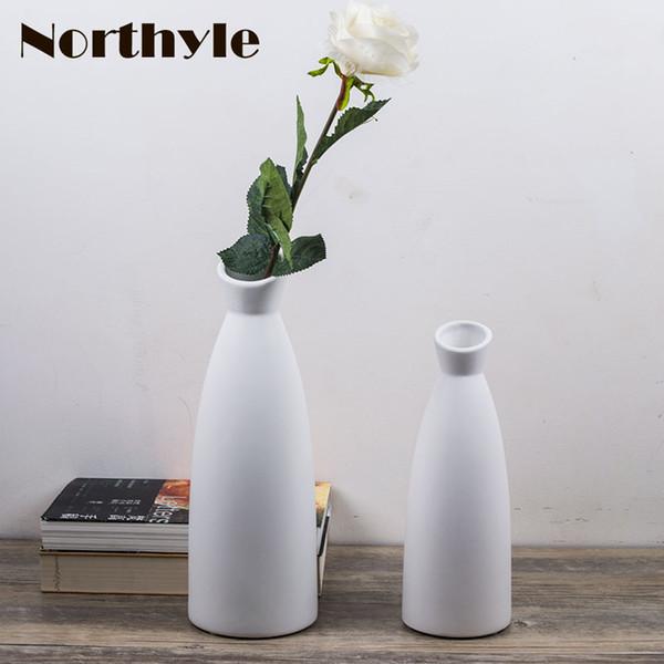 Großhandel Blumenvase Hauptdekor Der Einfachen Vase Moderne ...