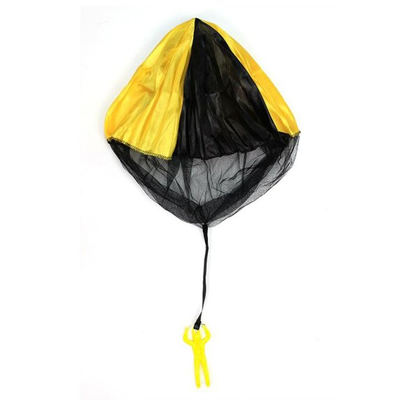 Skydiver Parachute Toy With Figure Soldier hand throwing parachute Kids Children