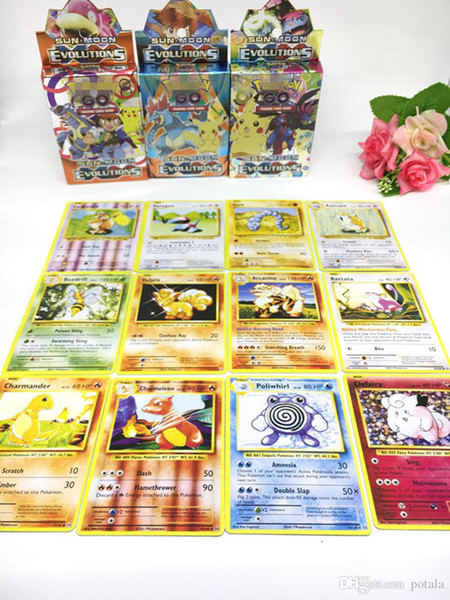 25pcs/lot Trading Cards Games guess anime juguetes board games cards against muggles Anime Pocket Monsters Toys poker fun card games cosplay