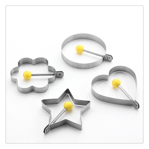 Stainless Steel Fried Egg Shaper egg Pancake Ring Mould Mold Kitchen Cooking Too