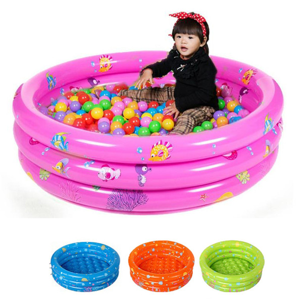 80cm Round Inflatable Pool For Baby Swimming Pools Children's Inflatable Bathing Pool Toddler Baby Play Pool With Repair Kit
