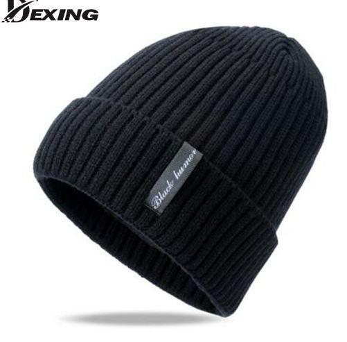 Wool cap Knitted Hat Winter hat Male Outdoor ski Beanies for men skullies beanies Balaclava Mask Gorras scarf cap bonnet