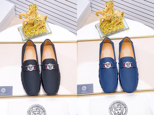 2018 neue Design Luxus Echtes Leder Lace Up Moderne Männer Brogue Schuhe Party Hochzeit Anzug Formale Schuhe Männlichen Kleid Schuhe Größe 38-45