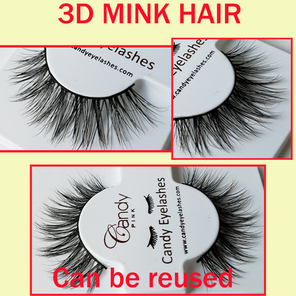 New Styles Hot Women Lady Black winged 3D Hair Thick Long Fake Eye Lashes Long Lasting Lashes Thick real softest eyelashes GR244