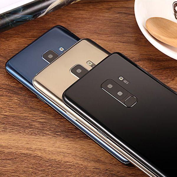 2019 Newest Goophone S9 Plus S9+ 6.2 inch fingerprint 1GB+8G show 4GB+128GB show fake 4g lte real 3G unlocked phone Quad Core Smartphone