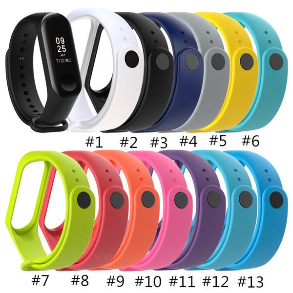 top popular NEW Strap For Xiaomi Mi Band 3 Smart Band Accessories For Xiaomi Miband 3 Smart Wristband Strap Spot goods Of Mi Band 3 Strap 2019
