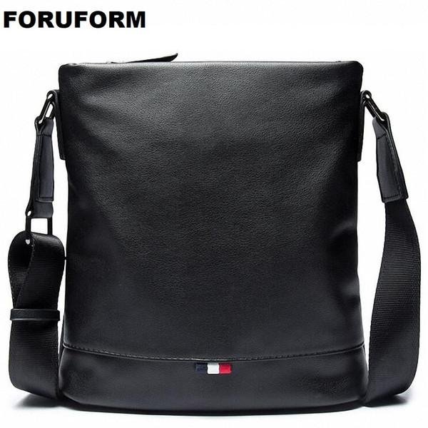 2018 Nuovo arrivo Fashion Business uomini in pelle Messenger Borse promozionali piccola borsa a tracolla Crossbody Casual Borsa uomo LI-2176