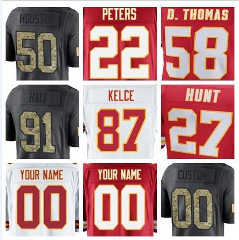 sneakers for cheap bb4d0 b86b5 2019 2018 Kansas City Patrick Mahomes II Jersey Chiefs Marcus Allen Vapor  Untouchable Color Rush Limited Customized American Football Jerseys Us From  ...