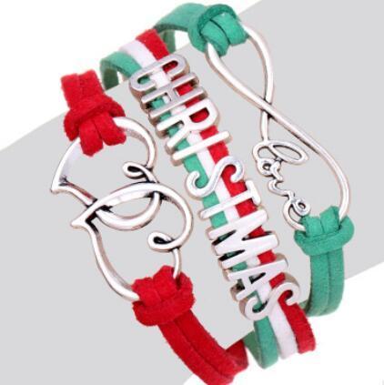 diseñador de joyas Chrismas deisgner pulseras para mujeres cadena de la cadena del corazón de la geometría simple moda caliente libre de envío