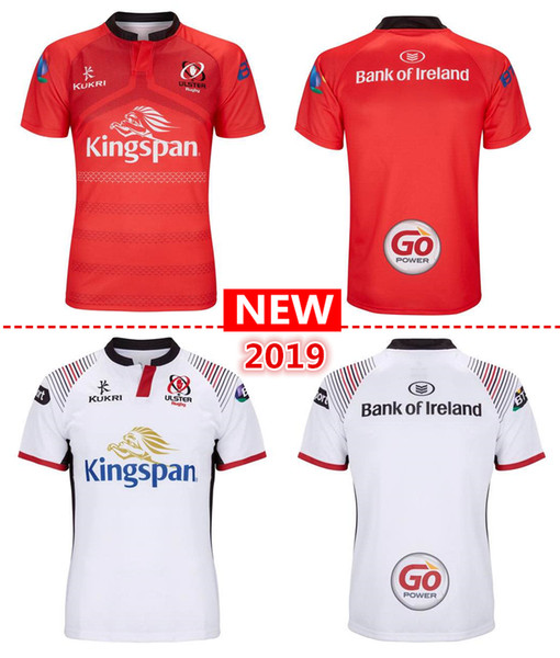 best selling free shipping 2019 new ulster home and away Rugby Jerseys kukri shirt 18 19 ULSTER national team League jersey Leisure sports shirts S-3XL