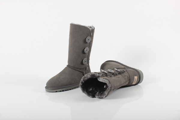 outlet store top-rated original new styles LOUISVUITTONLV GUCCIUGGwinter Australia Classic Snow Boots Good Boots  Real Leather Bailey Bowknot Womens Bailey Knee Boots Mens Shoe Over Knee ...