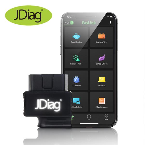 JDiag Faslink M2 Bluetooth Bluedriver OBDII Car Diagnostic Tool for iPhone Android Tester Code Reader Blue Driver OBD2 Scanner