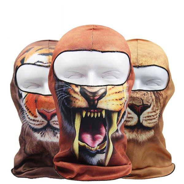 Face Mask AAAA+Quality Bandanas 20colors Ghosts Mask Outdoor Hat Cycling Bike Motorcycle Windproof Mask Elastic DHL Fast shipping BB+