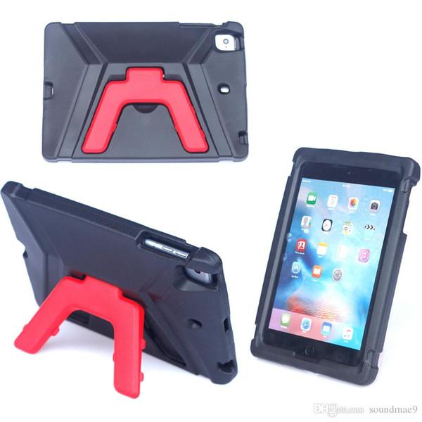 Children kickstand Cover EVA Shockproof Stand Holder 3D Cartoon Case for iPad 5 6 mini 1 2 3 4 air 1 2 Samsung Galaxy Tab E 8.0 T377