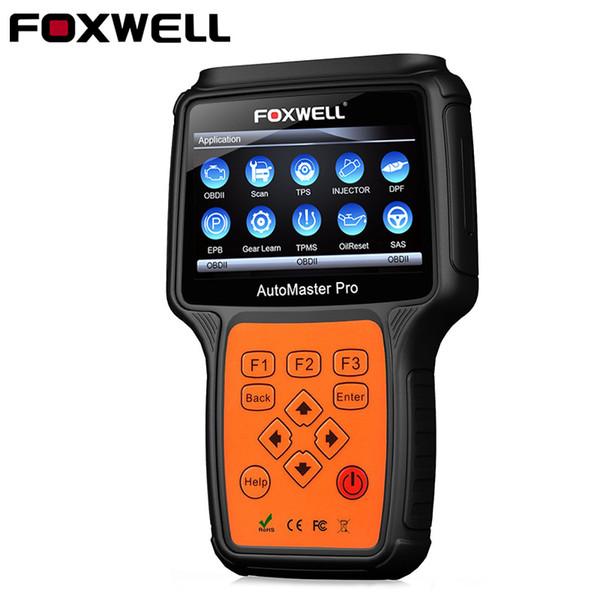 Foxwell NT644 Pro OBD2 OBD Full system Car Diagnsotic Tool Support BRT/Oil Reset/ SRS/EPB/DPF/TPMS Best Handheld Auto Scanner