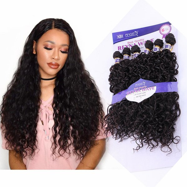 """Natural curly hair extensions 6bundles jerry curly weave hair blond #4/27 kinky curly weave Machine Made water wave Double weft 16-20"""""""