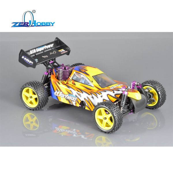 wholesale Rc Car 1/10 Scale Nitro Power 4wd Remote Control Car 94106 Off Road Buggy High Speed Hobby Car Similar REDCAT HIMOTO Racing