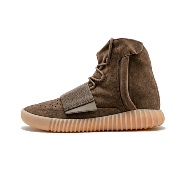 the best attitude a135a f24bc 2019 Adidas Yeezy 750 Kanye West OG Light Brown Triple Black Light Brown  Gum Mens Women Basketball Shoes Sport Sneakersrs 36 46 Hoka Running Shoes  ...
