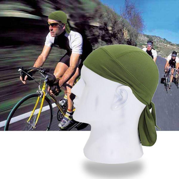 Açık Bisiklet Kap Hızlı Kuru Temiz Şal Bandı Kafa Eşarp Erkekler Koşu Şapka Sürme Bandana Ciclismo Kadın Erkek Hood Kapaklar