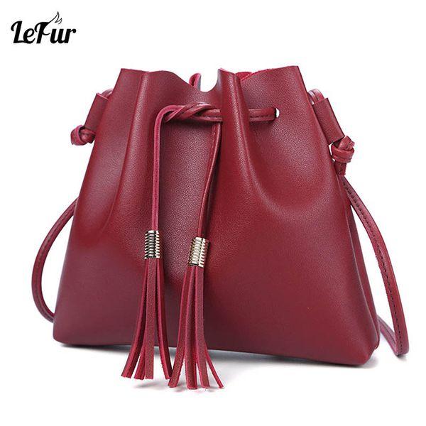 LEFUR Ladies HandBags Famous Brand Bags Tote Women Fashion Genuine Leather Shoulder Bag Women Crossbody Bags DropShipping