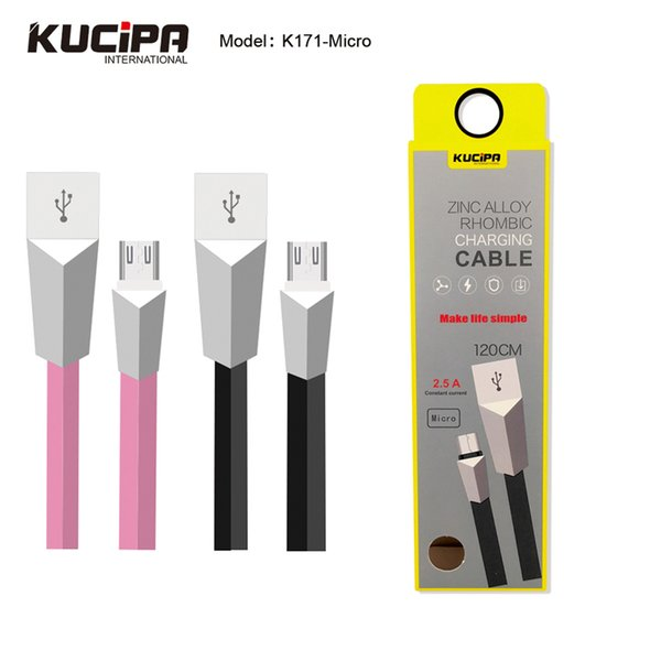 120CM Type C Cable Zinc Alloy Fast Charging Data Cable Type C Charger Cable for Xiaomi OnePlus Huawei with Retail Packing
