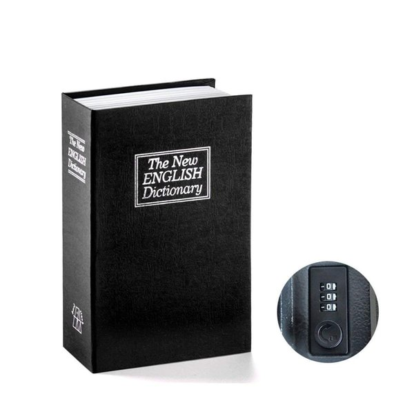 FGGS Book Safe with Combination Lock Dictionary Diversion Book Safe Portable Box, Great for storing Money Jewelry Passpor