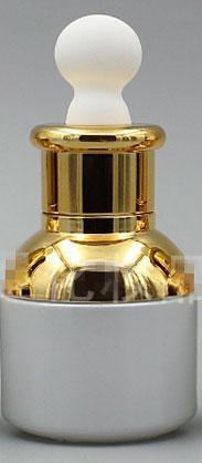 30ML Altın Oblate kauçuk ampul