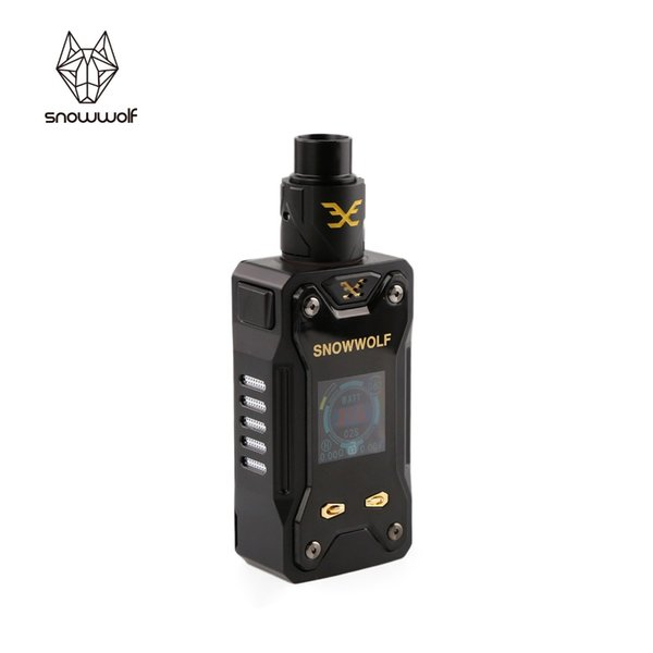 Vape Mod y tanque RDA Kit de cigarrillo electrónico SIGELEI snowwolf range e original Xfeng MOD KIT