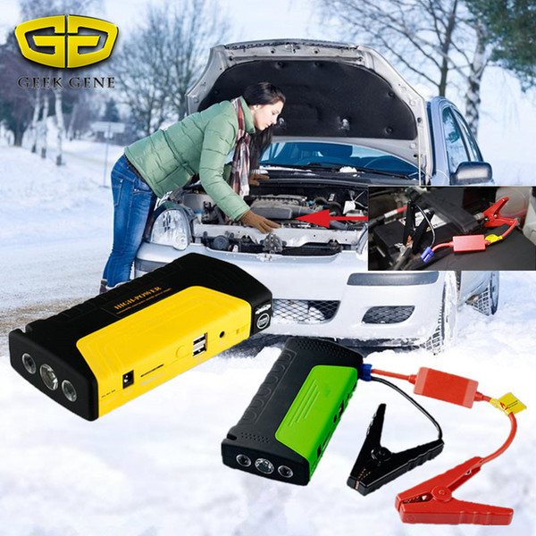 2018 New Car Jump Starter Portable Starting Device Power Bank 12V 600A Car Charger For Battery Petrol Diesel buster