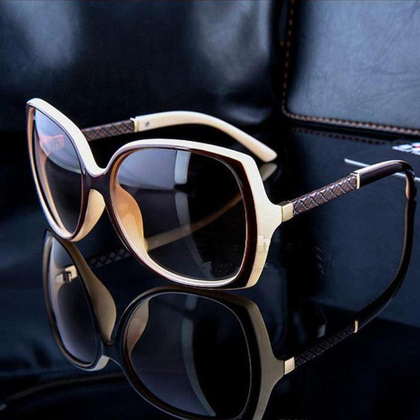 a84bb225c3 Designer Sunglasses Women Famous Luxury Brands Retro Vintage Protection  Female Fashion Sun Glasses Women Vision Care 6 Color with box Cheap