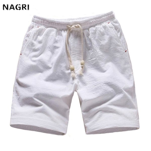 Summer Shorts Men Casual Solid Beach Shorts Sports Breathable Quick Dry Knee Length Fitness brand Short Pants Bermuda Masculina