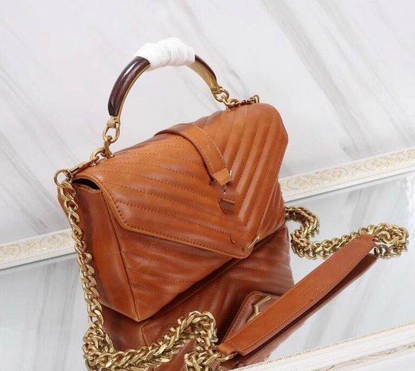 Shoulder Handbag Designer Fashion Women Ladies Crossbody Tote Genuine Leather Manual Unique Popular Bags