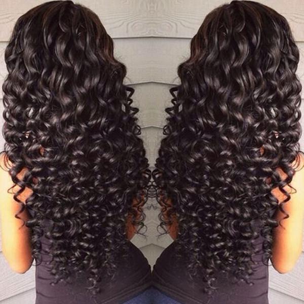 360 Pelucas de cabello humano delanteras de encaje completo para mujeres negras Pre arrancadas 150% Densidad Cuerpo Onda profunda Suelta Kinky Rizado Peluca brasileña HCDIVA