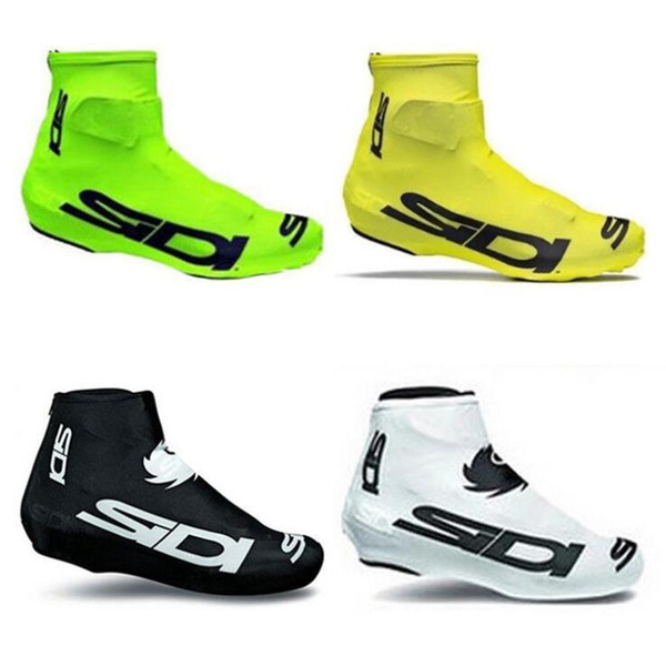 Wholesale Lycra Women Men MTB Mountain Bicycle Bike Team Sport Sneaker Cover Footwear Overshoe Accessories Cycling Shoe Covers Free Shipping