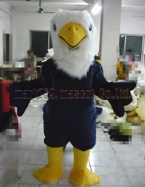 Орел костюм талисмана Бесплатная доставка взрослый размер,прохладный Орел птица талисман роскошные плюшевые игрушки карнавал партия празднует талисман заводских продаж.