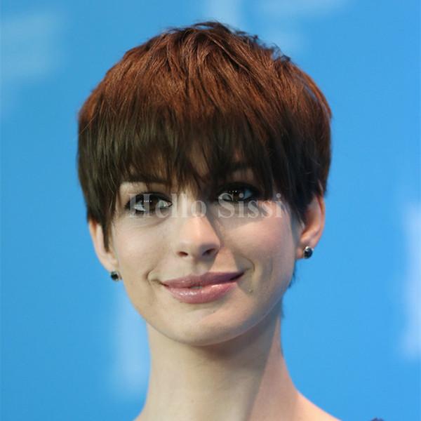 Горячие продажи полный кружева человеческих волос парики девственные индийские человеческие волосы короткие волосы парики Пикси парики для чернокожих женщин