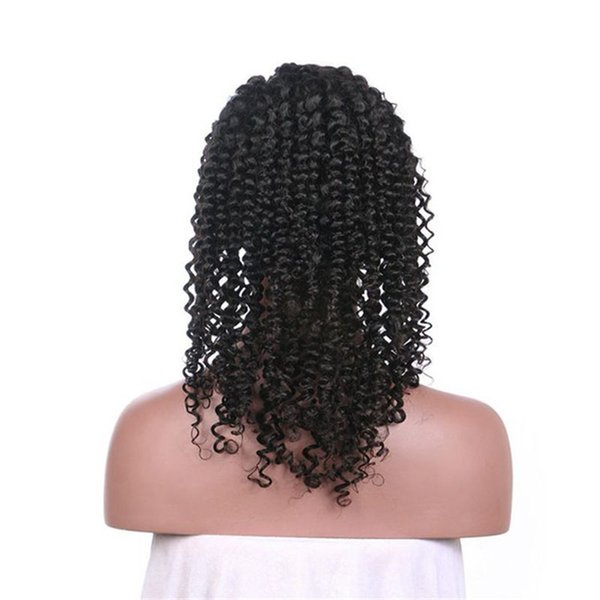 Wholesale Cheap 130% 150% Density 8-26 Inch Afro Kinky Curly Lace Front Wig With Baby Hair No Tangle No Shedding