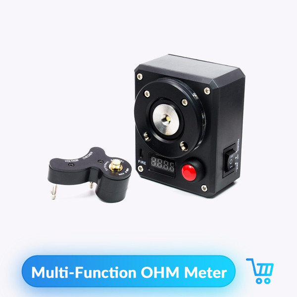 Volcanee Multi-Function OHM Meter Prueba de Voltaje de Fiebre Ardiente para E Cigarette RDTA Tanque Vape Atomizer Prueba de resistencia Ohm Tester Meter
