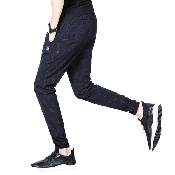 Calças de seção fina calças de camuflagem Obscure Calças de moletom dos homens calças esportivas