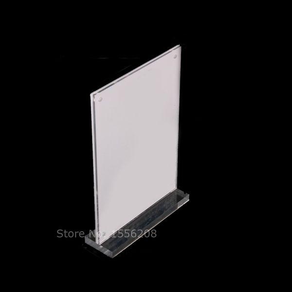 Acryl Magnetic Picture Bilderrahmen Desktop A5 Rahmen mit polierten Kanten