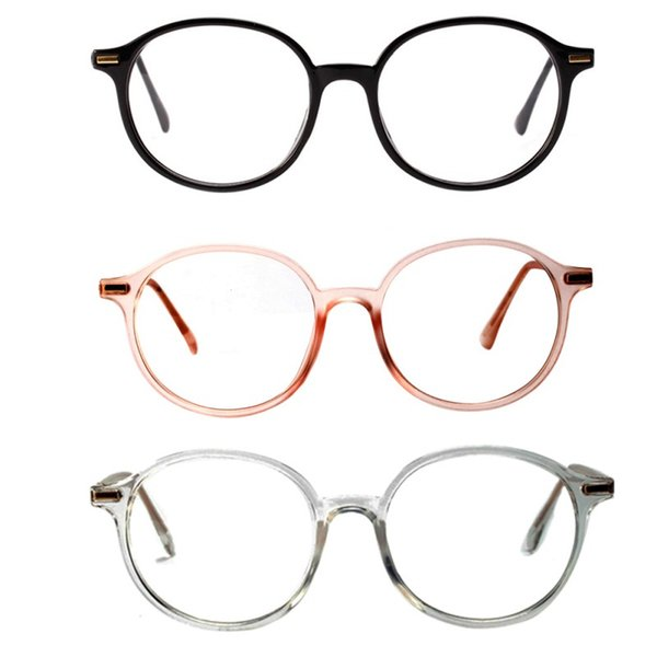 1PC Fashion Unisex Metal Glasses Frame Men Eyeglasses Frame Vintage Round Clear Eye Glasses Female Eyewear