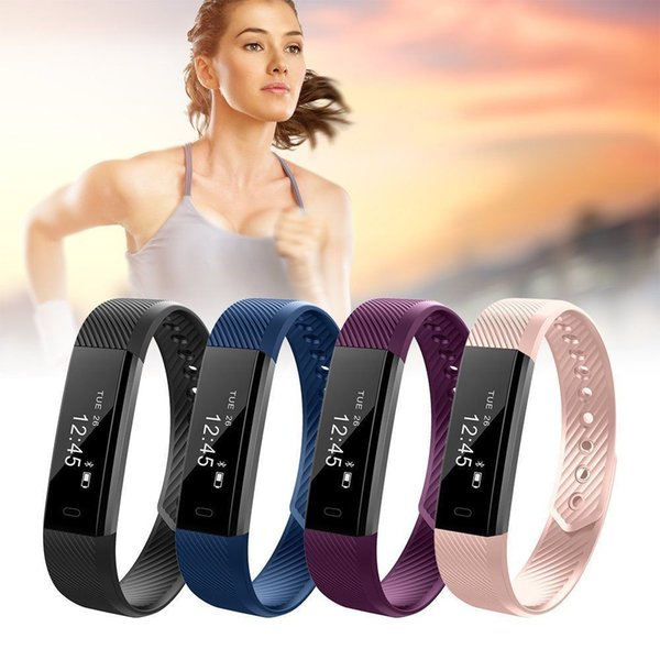Smart Bluetooth Fitness Activity Tracker Sports Watch Pedometer Wristband Fitbit Pedometer Wristband Strap