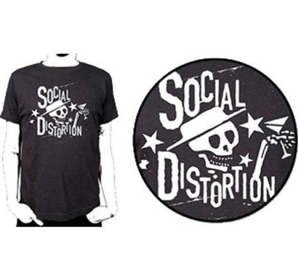 Social Distortion Stars T Shirt S-M-L-Xl-2Xl Brand New Official T Shirt T Shirt Men Male Summer Custom Short Sleeve Boyfriend's Plus Size Co