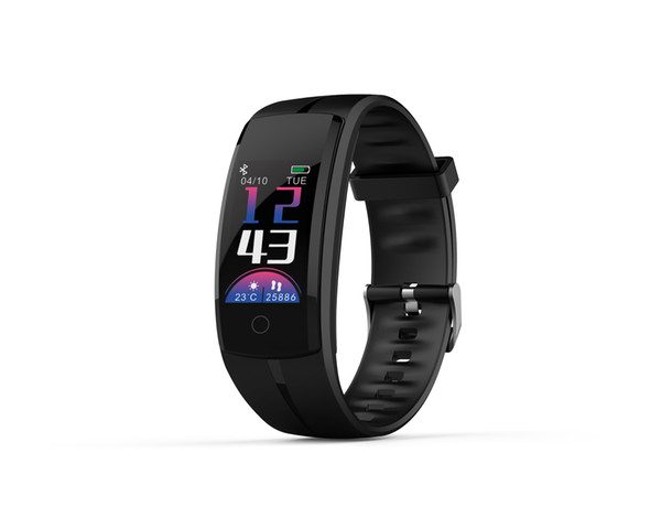 QS100 Smartband Waterproof Smart Wristband Watch Heart Rate Monitor Activity Fitness Tracker Bracelet For Android IOS VS FitBit Charge