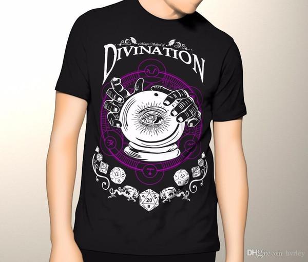 T-shirt con stampa anime T-shirt e draghi, Divinazione, DD, Barbarian Premium S-5XL Abbigliamento casual Hip-Hop