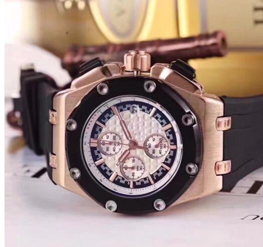 Großhandel Mann Rose Gold Fall Quarz Knochen Armbanduhr Orologio Sport Hochwertige Luxusmode Herrenuhr Brandneue Edelstahl Herrenuhren Von Omega007,